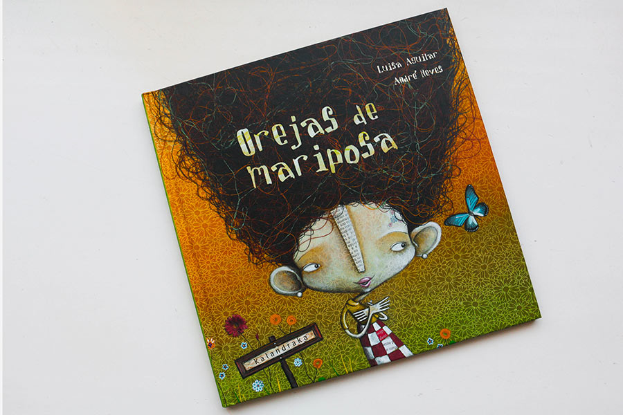 Orejas de Mariposa. Luisa Aguilar