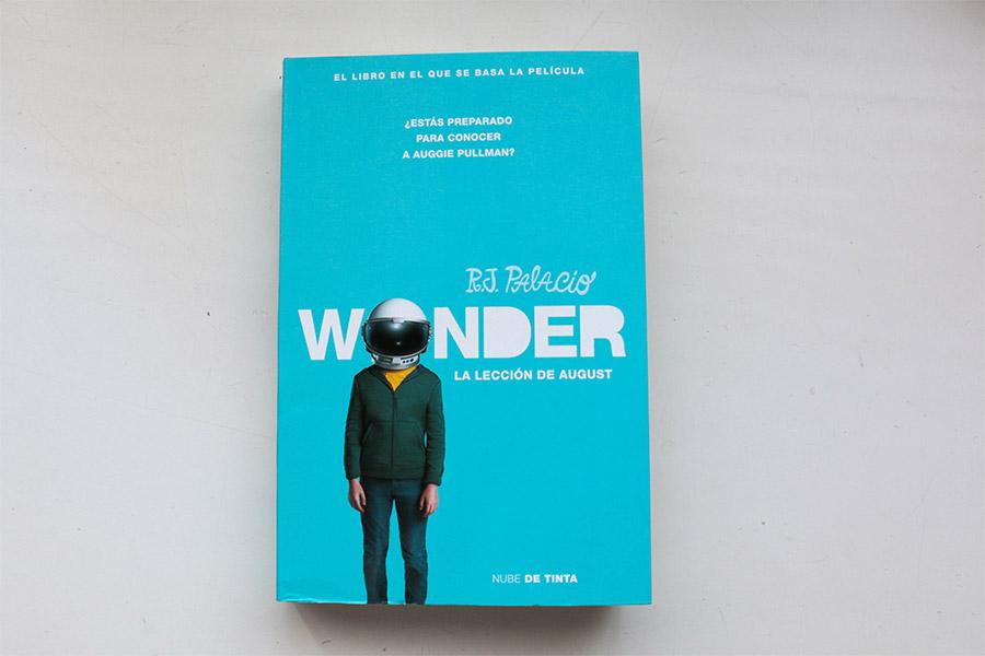Wonder. La lección de August. R.J.Palacio