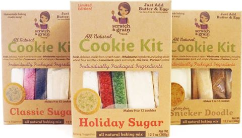 Scratch & Grain Holiday Baking Kits