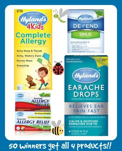 hylands allergy products
