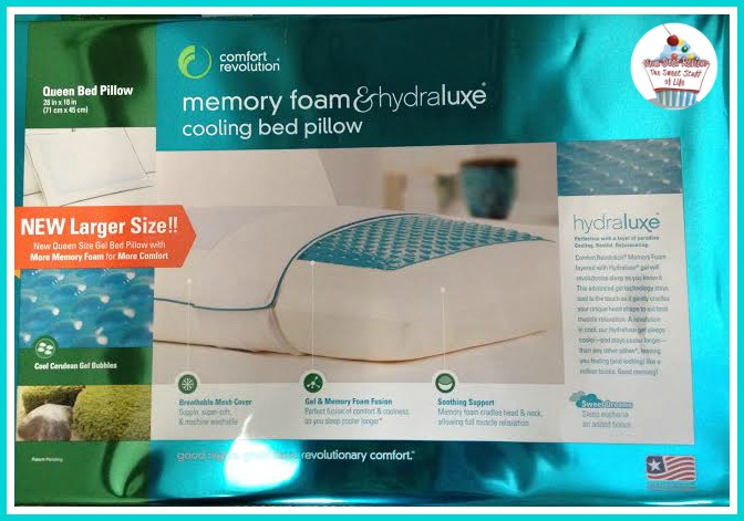 comfort revolution hydraluxe cooling