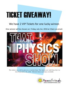 That Physics Show Ticket Giveaway