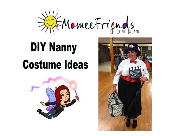 diy nanny costumes