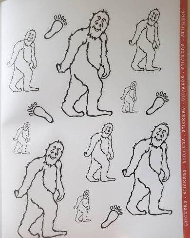 big foot activity book 2