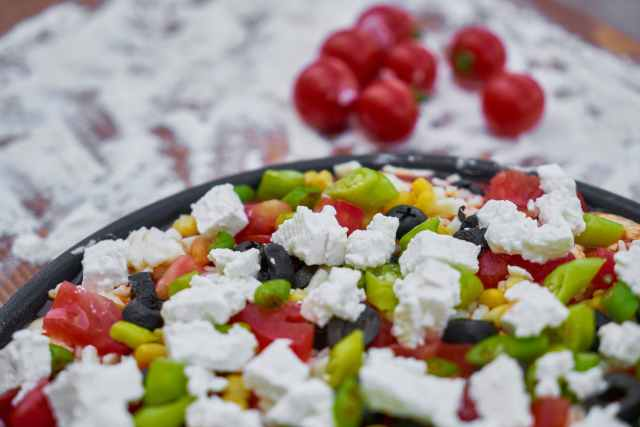Salad & healthy living