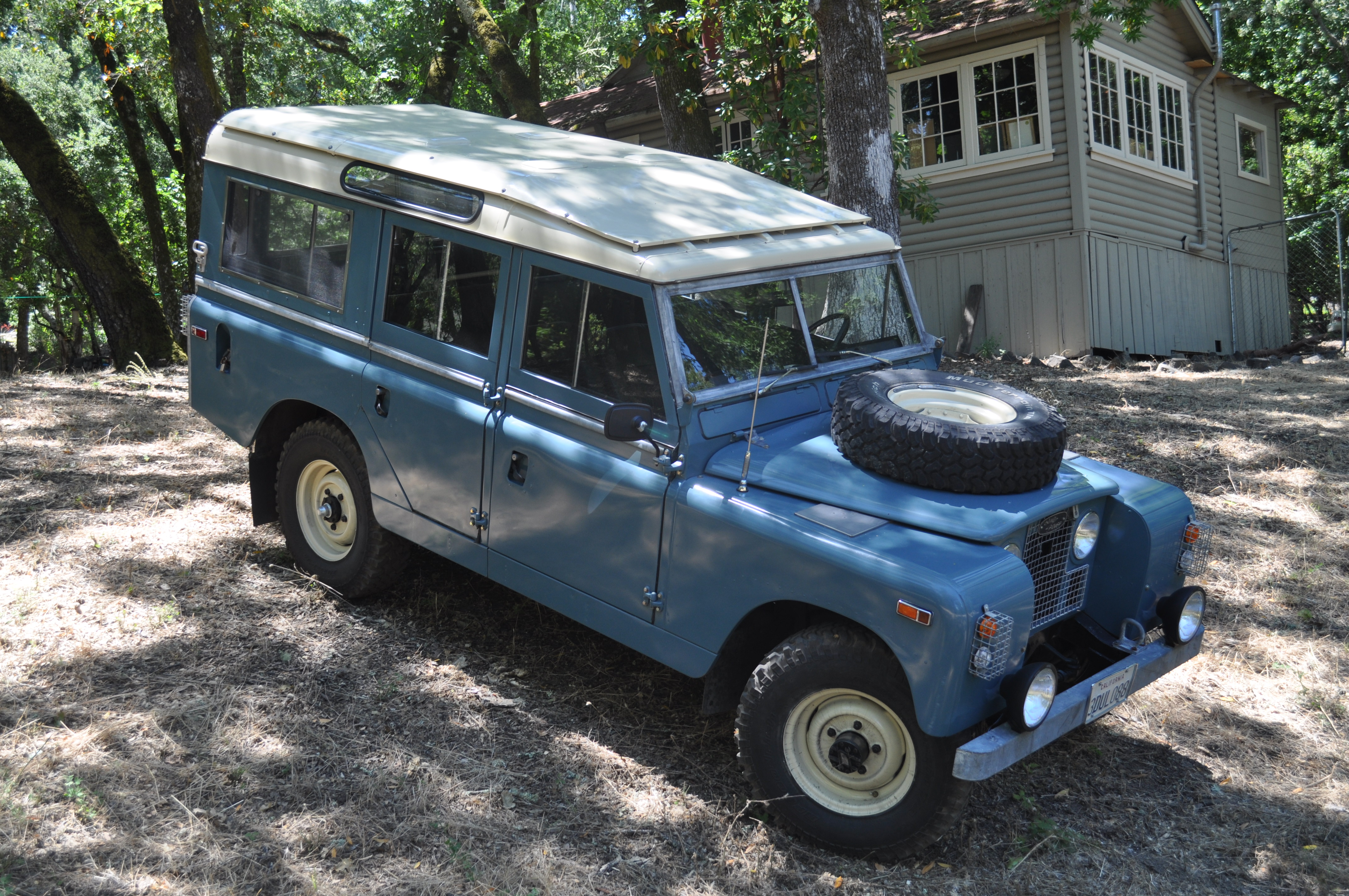 LAND ROVER SERIES II 3095px Image 12