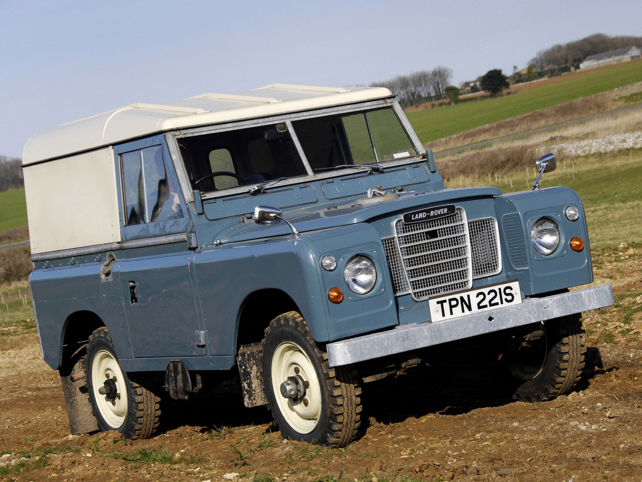 1971 Land Rover Series III Information and photos MOMENTcar
