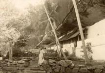 Outside of Rock Temple Dambulla