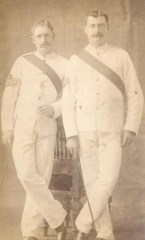 British Officers photographed by Skeen & Co.