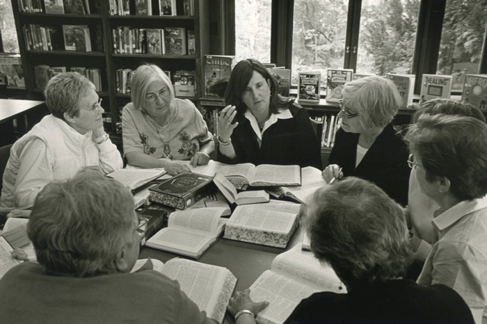 Jewish women discussing politics and the election