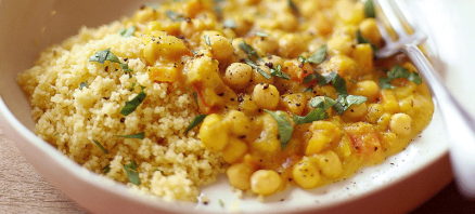 Butternut Squash, Chickpea and Turmeric Couscous