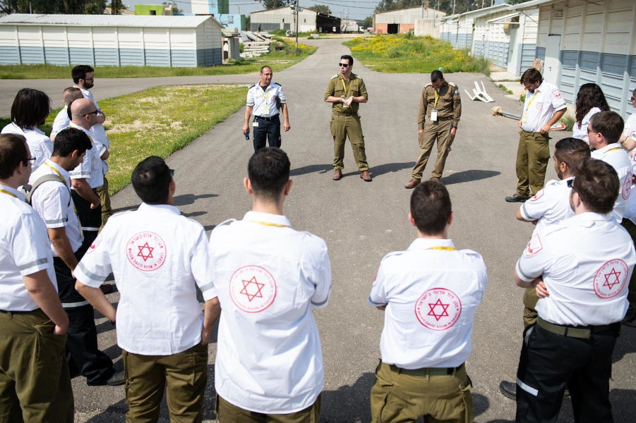 How the IDF is Battling the Coronavirus