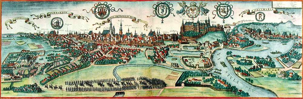 16th century painting of Krakow