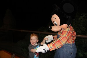 Dancing with Farmer Mickey