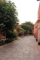 street in Santa Catalina Monastery
