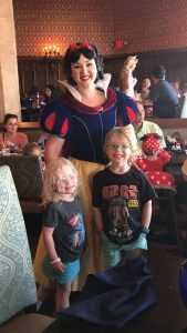 Snow White at Cinderella's Royal Table