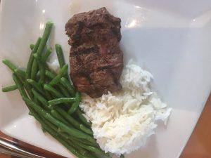 Children's Steak at Akershus Royal Banquet