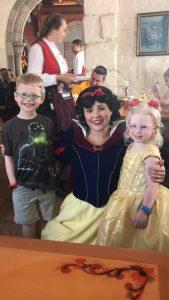 Snow White at Akershus Royal Banquet
