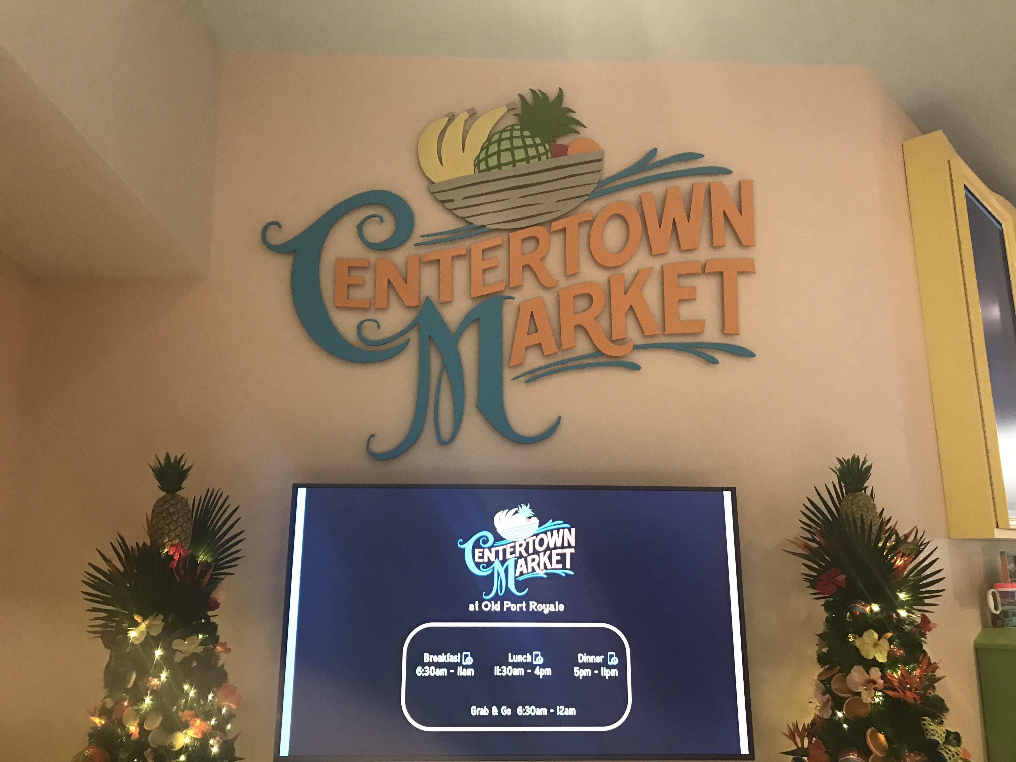 Center Town Market at Caribbean Beach