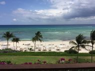 The private beach at Grand Velas Riviera Maya