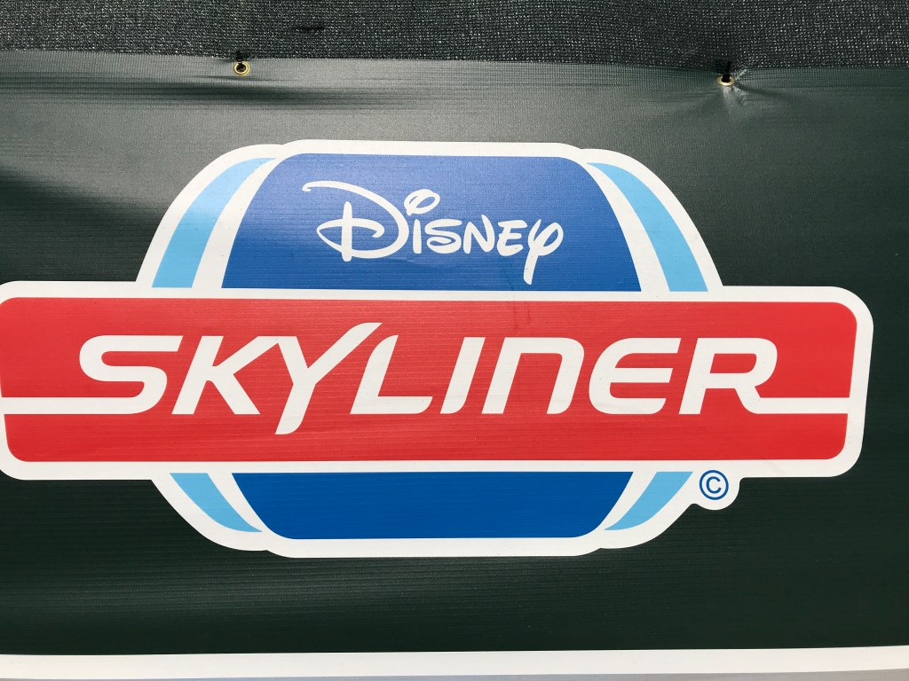 Disney Skyline Sign