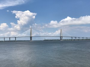 Great View of the Ravenel Bridge from the SC Aquarium