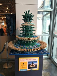 Bricks Alive Exhibit Winner South Carolina Aquarium