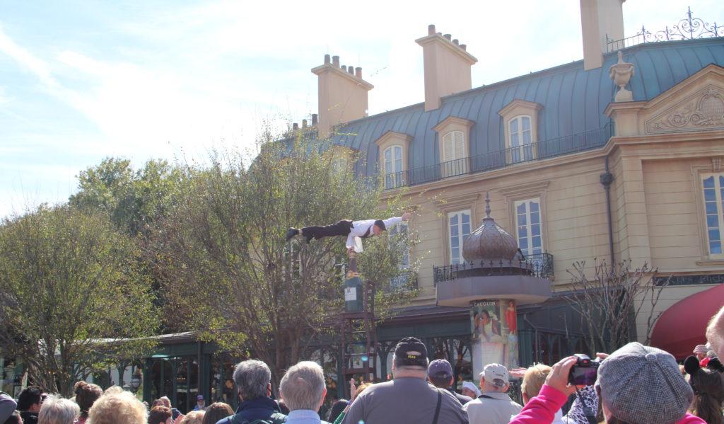 Serveur Amusant in France Pavillion at Epcot