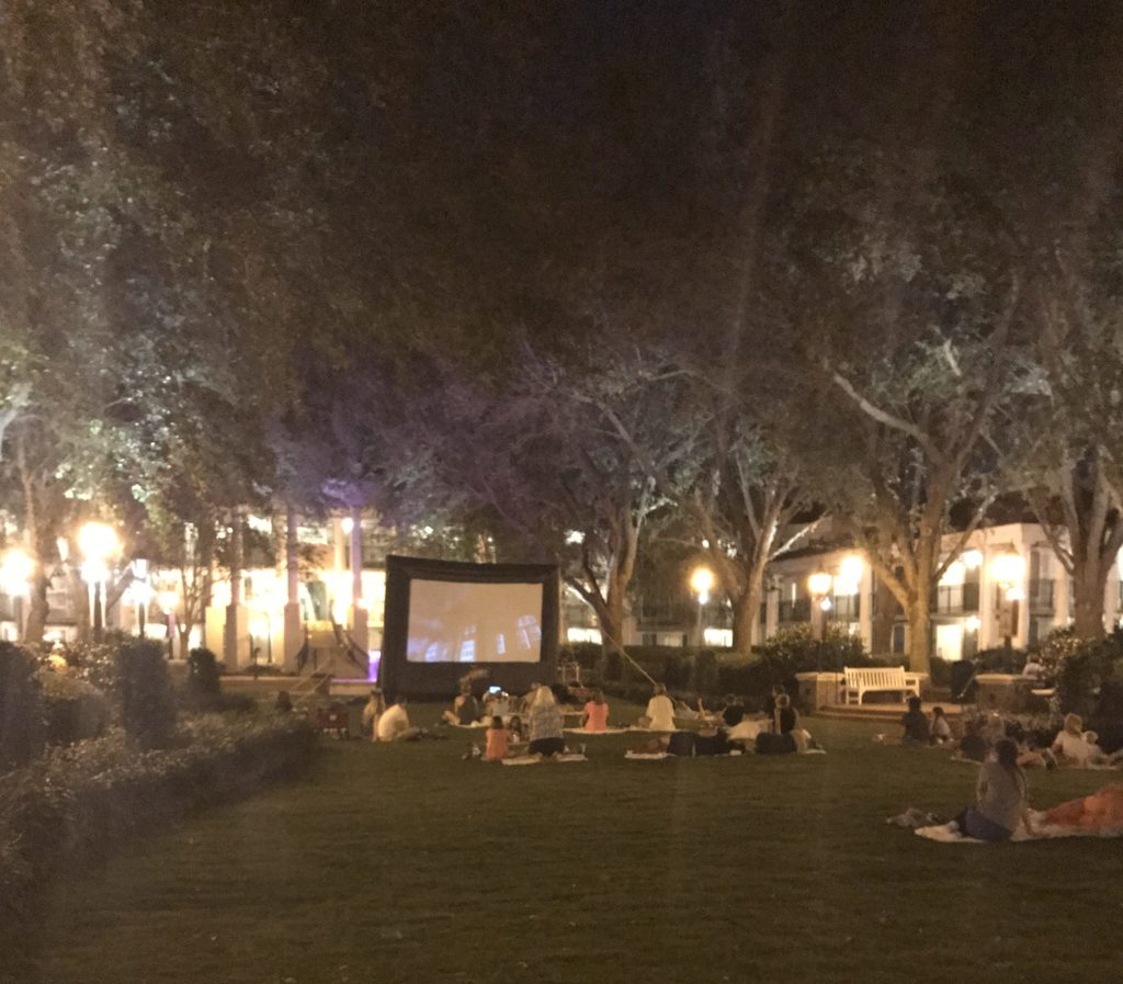Movie Under the Stars at Port Orleans Riverside