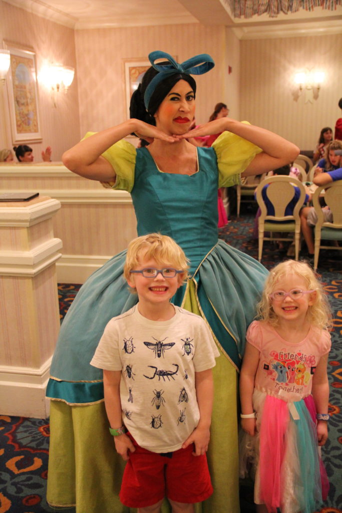 smiles with Drizella