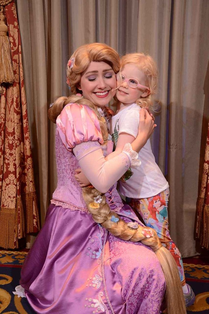 Rapunzel at Princess Fairytale Hall