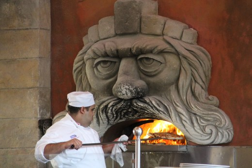 Pizza Oven at Via Napoli
