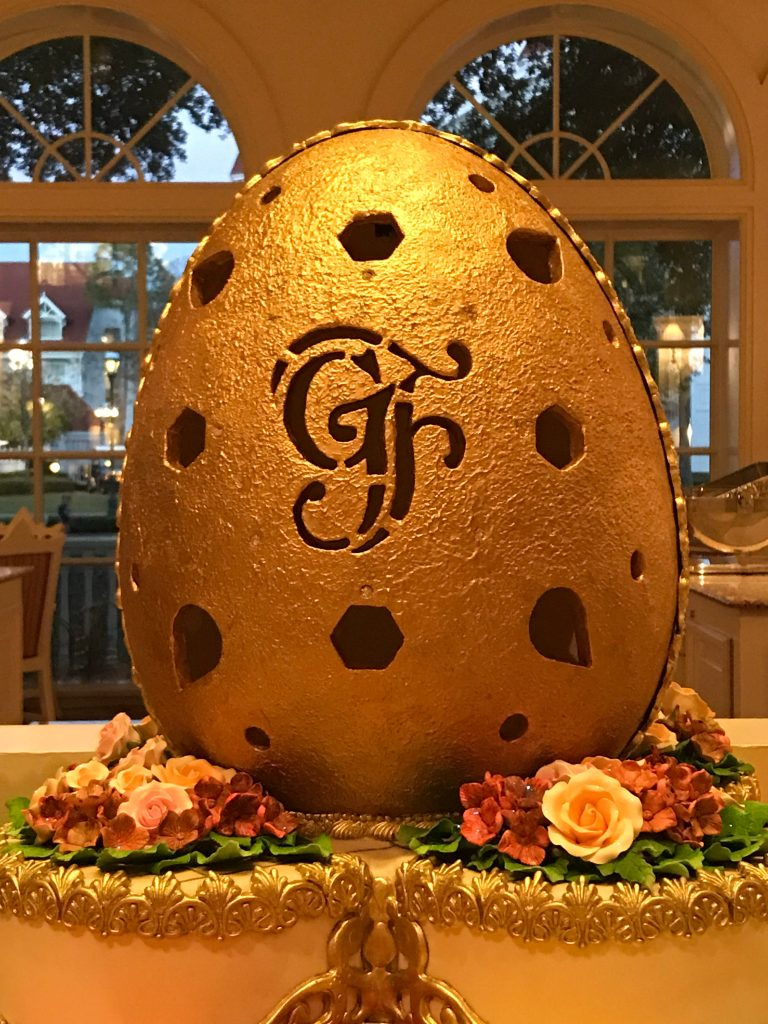 Grand Floridian Signature Chocolate Egg at Grand Floridian