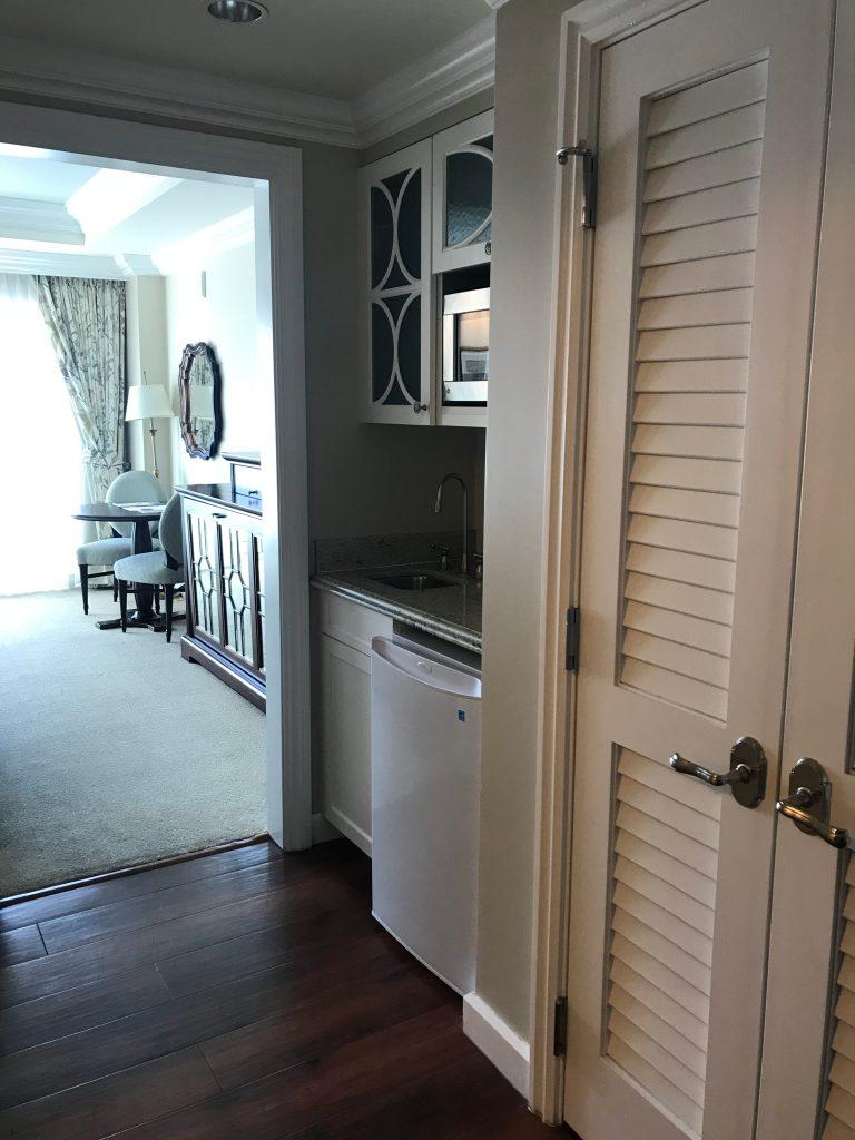 Hallway of Grand Floridian DVC Studio Villa
