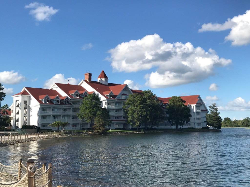 Grand Floridian Resort across the water