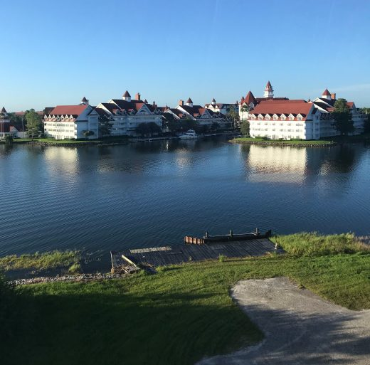 Grand Floridian view from monorail