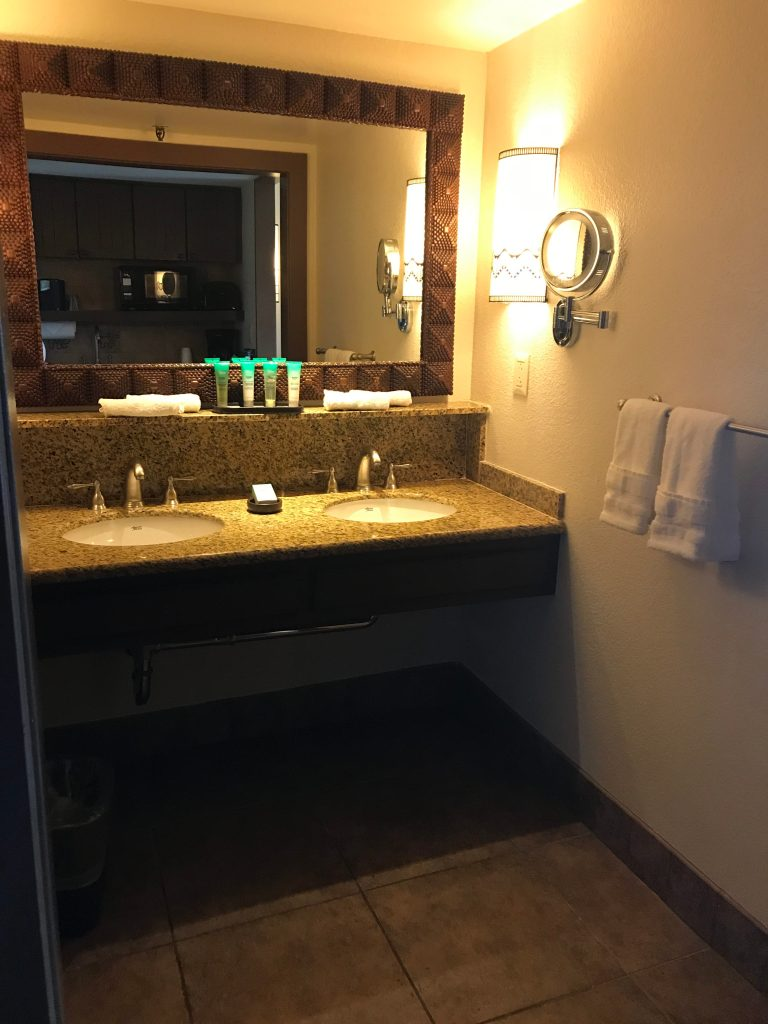 Vanity in Jambo_AK Lodge
