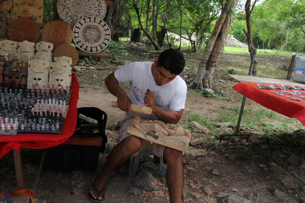 Chichen Itza Local Craftsman
