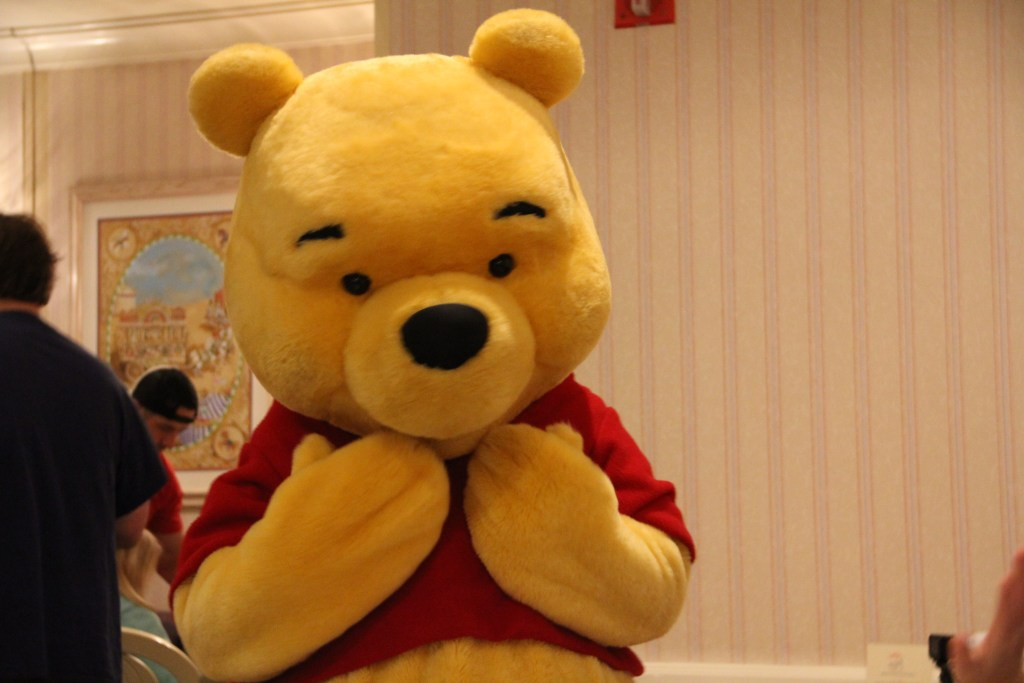 Winnie the Pooh at 1900 Park Fare Grand Floridian
