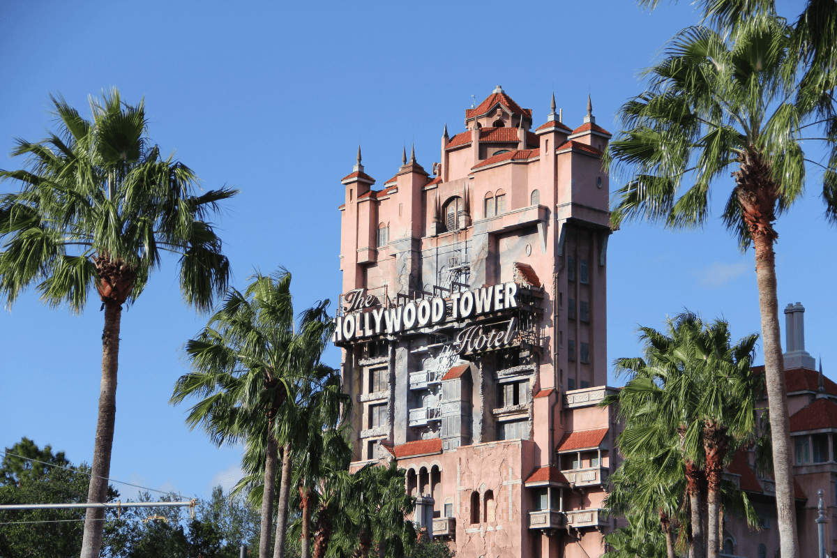 Hollywood Tower of Terror Hollywood studios