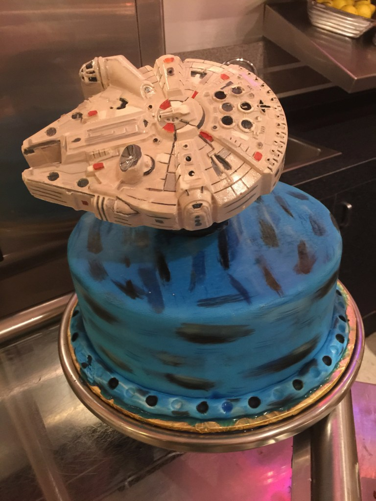 Hollywood and Vine Star Wars cake