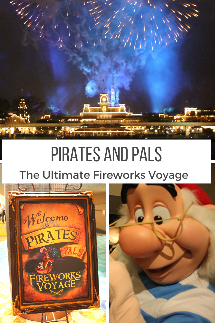 Pirates and Pals Fireworks Voyage : The Best View of the Magic Kingdom Fireworks!