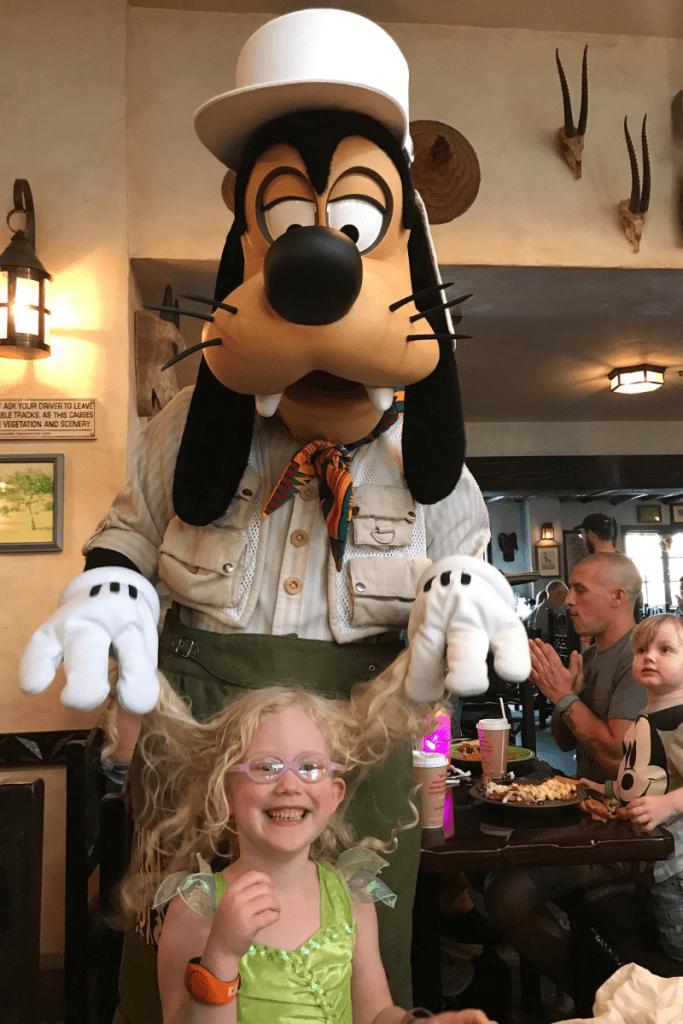 Goofy at Tusker House