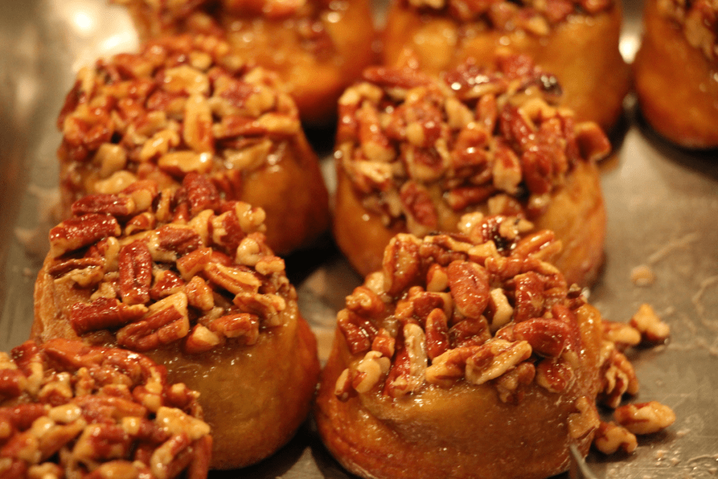 Pecan Cinnamon Buns at 1900 Park Fare