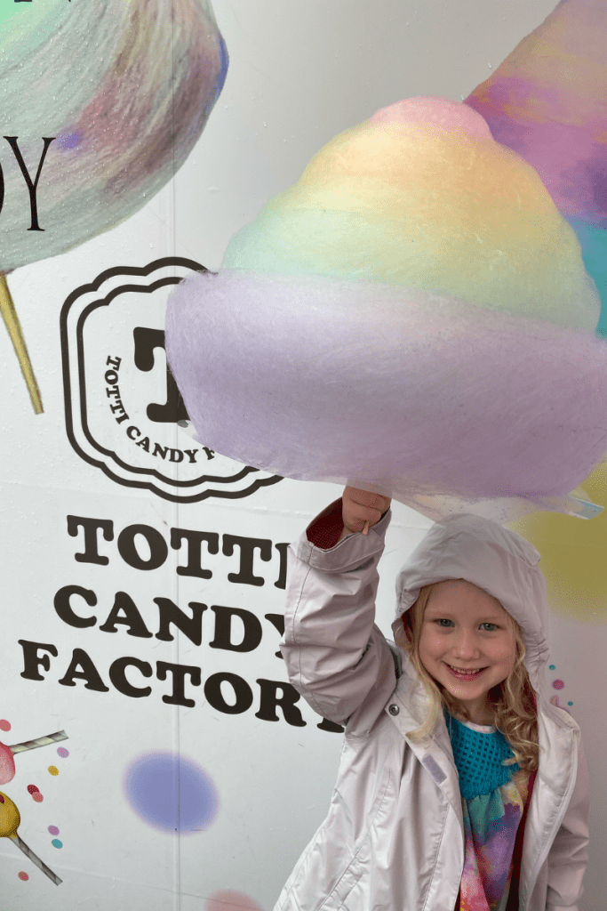 Totti Candy Factory Cotton Candy