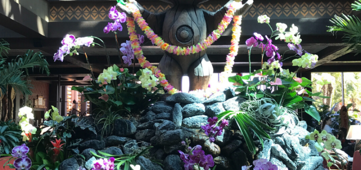 Disney's Polynesian Resort Lobby