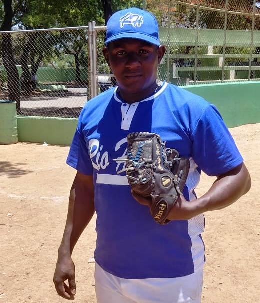 Gabriel Herrera, lanzador de Haina 1