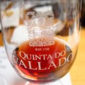 prova do vinho do Porto Vallado