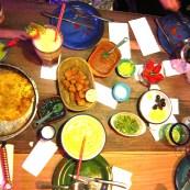 jantar no Andres