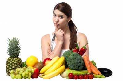 Menú de dieta vegetariana para adelgazar